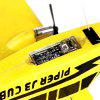HL - 803 2.4G EPP Foam Glider 330mm Fixed Wing RC Airplane Aircraft Toy Model - RTF - YELLOW