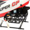 Walkera Super CP 6CH 3D Flybarless 3-axis Gyro RC Helicopter Toy Gift for Children - WHITE