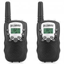 Gocomma 8-channel 2-way Radio Walkie Talkie 2PCS only $12.99 with coupon