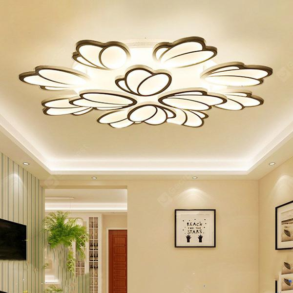 Stylish LED Ceiling Lamp Simple Modern Bedroom Dimming Light