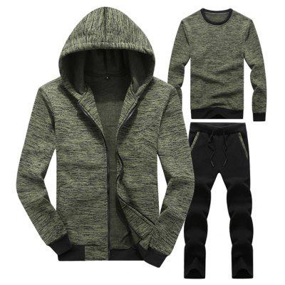 Men's Fashion Outdoor Running Suit Jackets