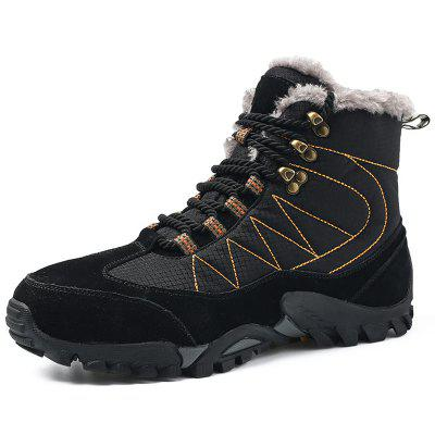 Men Warm Boots Comfortable Wearable Lace-up