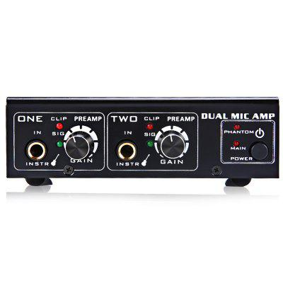 LINEPAUDIO A961 Dual Microphone Amplifier