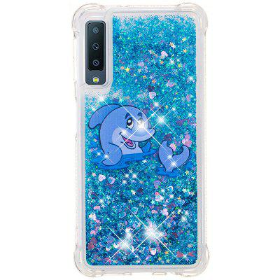 Full Soft Drop-proof Transparent Phone Case for Samsung Galaxy A7