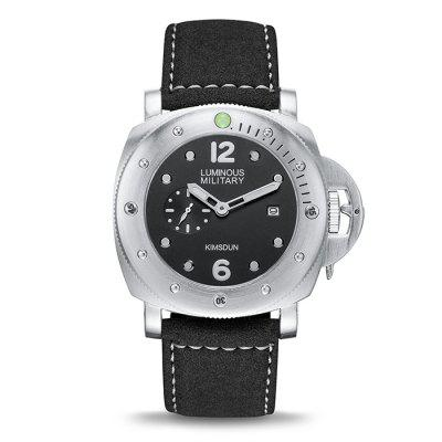KIMSDUN K-926D Men's Waterproof Luminous Sports Automatic Mechanical Strap Watch
