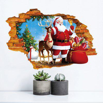 Weihnachten 3D Wallpaper Sticker