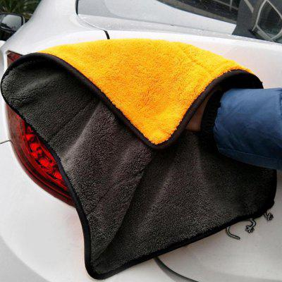 Thick Absorbent Coral Velvet Cleaning Car Towel