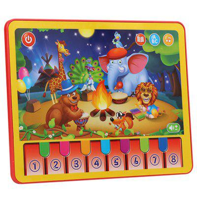 MoFun 2602A Multi-function Toy Learning Machine Children's Tablet Animal Concert Tablet English