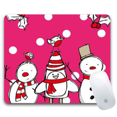 Christmas Gift Supplies Santa Design Mouse Pad