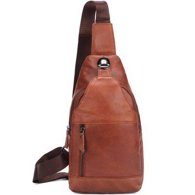 MISFITS 8146 Leather Men's Chest Bag
