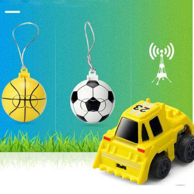 Mini 2 in 1 RC Auto 2CH Afstandsbediening Model Toy Gift