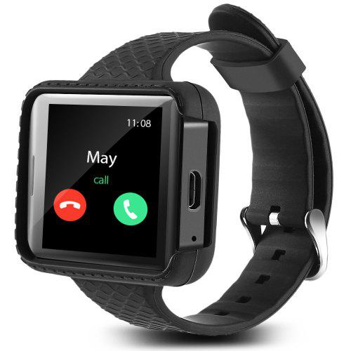 Flowfon I5S Mini Smart Mobile Watch - BLACK