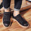 Casual Oxford Shoes Men 's - NEGRU