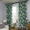 Turtle Bamboo Nordic Living Room Bedroom Green Corridor Waterproof Curtain - SEAWEED GREEN