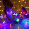 BRELONG Stylish Christmas Decoration 20 LED Snowflake String Lights - WHITE