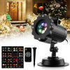 zanflare 002  Holiday LED Projector Light with 16 Switchable Slides - BLACK