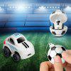 Mini 2 in 1 RC Car 2CH Remote Control Model Toy Gift - WHITE