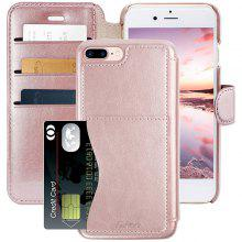 Leather Phone Case For iPhone 8 Plus/7 Plus/5.5 Inch Phone