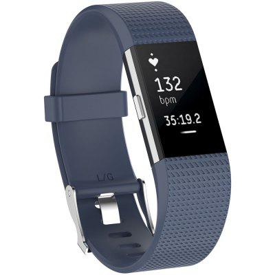 Gumowy pasek Plaid Watch Strap do Fitbit Charge 2