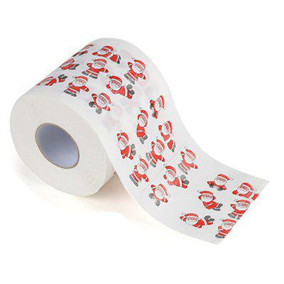 Christmas Printed Paper Towel Fashion Roll Paper