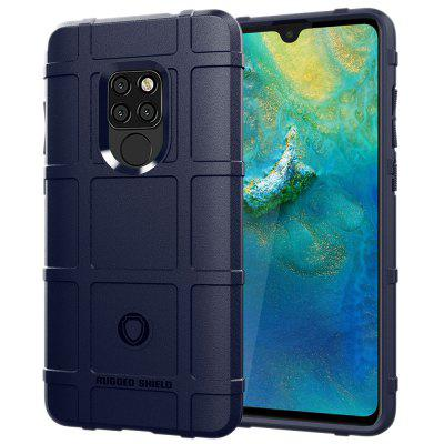 OCUBE Scrub Anti-fingerprint Silicone Anti-drop Soft Plastic Phone Case for HUAWEI Mate 20 6.53 Inch
