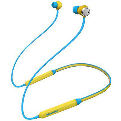 Bluedio Active Noise Reduction Sports Neck-mounted In-ear Wireless Mini Headphone