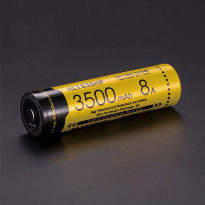 Nitecore NL1835HP 3500mAh 8A High Performance Protected 18650 Li-ion Battery