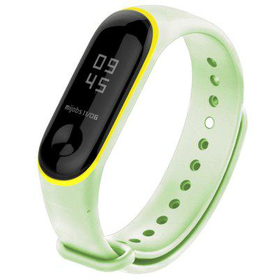 Stylish Two-color Luminous Watch Strap for miband 3