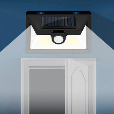 Human Body Induction Outdoor Automatic Solar Infrared COB Enhanced Waterproof Wall Lamp
