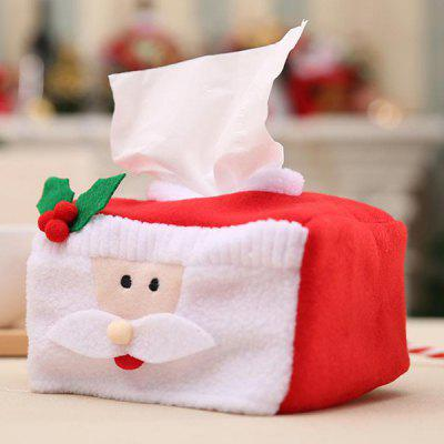 Large Christmas Tissue Box Cover