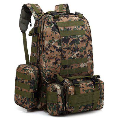 Oxford Cloth Outdoor Army Fan Tactical Backpack Mountaineering Large Combination