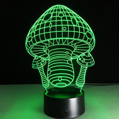 3D Colorful Touch LED Visual Table Lamp Night Light