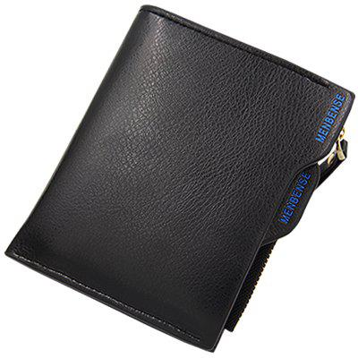 820 - 2 Men Multi-function Multi-card Business Short Wallet