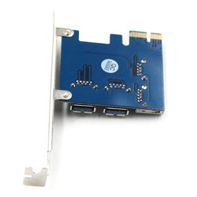 14-3D3W2 - A31.2.38 Mining Special Card PCI-E to PCI-E Adapter Card
