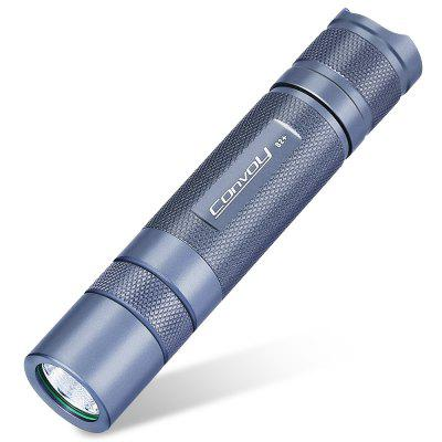 $9.99 for Convoy S2+ LED Flashlight - PASTEL BLUE