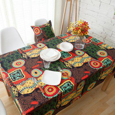 Party Meal Cotton Linen Tablecloth