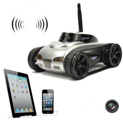 777 - 270 WiFi FPV Tank Real-time Transmission Camera Video Military Model Toy Gift