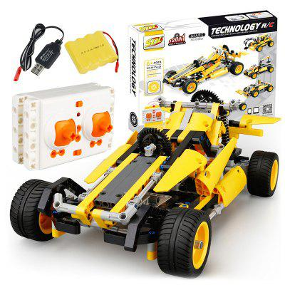SDL 2017A - 23 DIY 2 w 1 Building Blocks Remote Control Car Intelligent Toy Gift