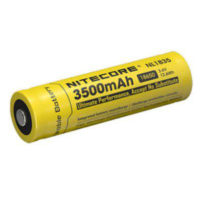 Nitecore NL1835 3.6V 3500mAh 18650 Rechargeable Li-ion Battery