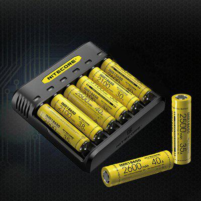 Nitecore Q6 Simple 6-slot Battery Charger