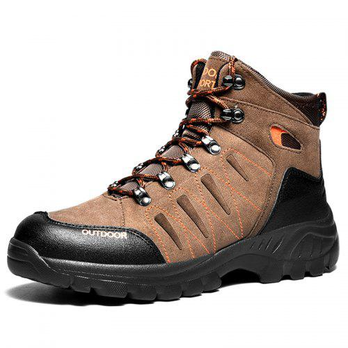 Men Comfortable Light Weight Outdoor Hiking Shoes