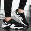 Fashionable Men's Low-cut Casual Sports Shoes - BLACK