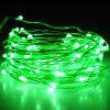 BRELONG 10m 100-LED Waterproof String Light for Home Decoration with Remote Control - GREEN
