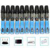 SC - UPC - P Fiber Connector Embedded Quick Connect Adapter 10PCS - DEEP SKY BLUE
