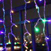 0.8m 216 LED Beads Curtain Light String - MULTI-A