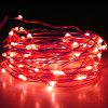 BRELONG 10m 100-LED Waterproof String Light for Decoration - RED