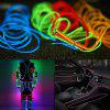 Gocomma Cool Waterproof LED Strip Light Wire Tube Neon Light Inside Atmosphere Light Decoration Car Interior - YELLOW