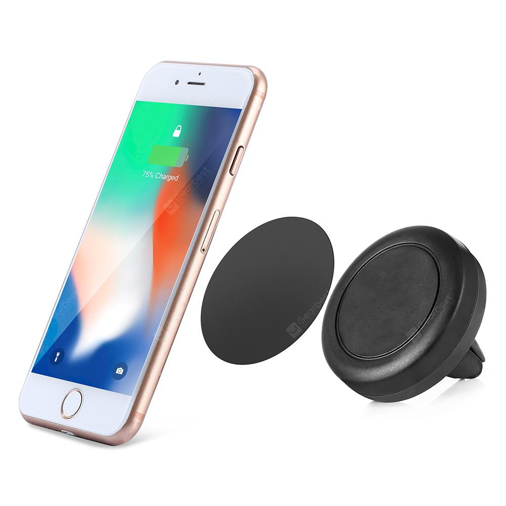 Excelvan Universal Air Vent Magnetic Car Cellphone Mount Holder | Gearbest
