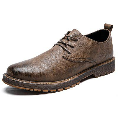 Sapatos Oxford Masculinos Casual Soft Classic Style