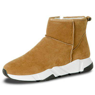 d0acc93343a Male Sylish Warm Plush Outdoor Martin Boots -  39.57 Free Shipping ...